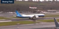 ニュース画像:ボーイング、777X初飛行 飛行時間は3時間51分