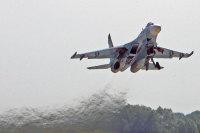 ニュース画像:ロシア海軍航空隊のSu-27、バルト海上空で空中戦訓練を実施