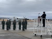 ニュース画像:大村航空基地、1月26日にたかなみへ搭載するSH-60Kを見送り