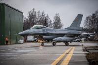 ニュース画像:NATOによるバルト三国領空警備、ベルギー空軍F-16による監視継続