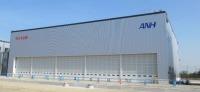 ニュース画像:空港施設、福岡空港ヘリポート機能移転先の奈多ヘリポートに格納庫竣工