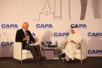 ニュース画像:カタール航空、第2回CAPAカタール航空地政学と管理規制サミット開催