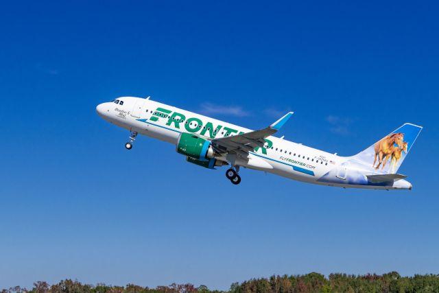ニュース画像 1枚目:フロンティア航空 イメージ