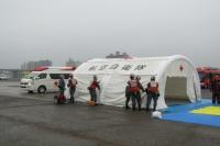 ニュース画像:新田原基地、第5航空団と新田原救難隊が宮崎市総合防災訓練に参加