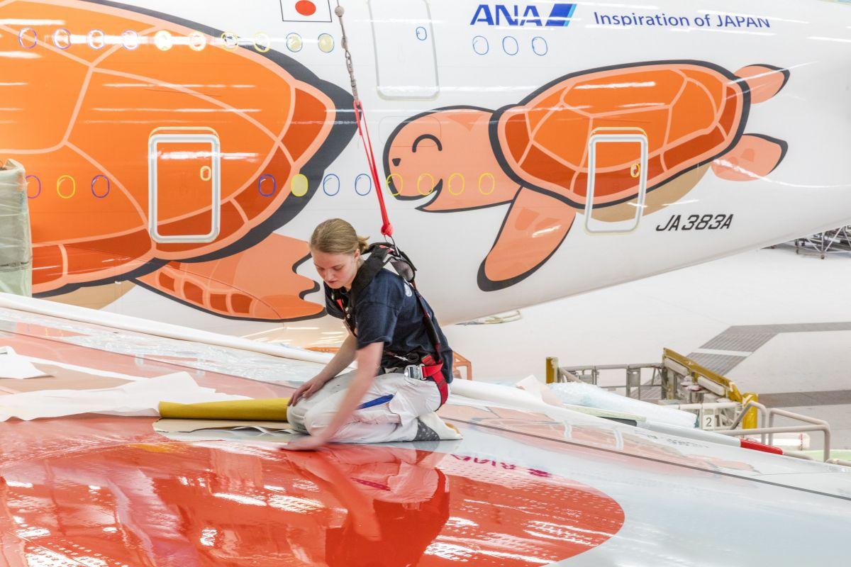 ニュース画像 7枚目:A380「JA383A」
