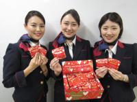 ニュース画像:JAL、2月14日は国内・国際線でバレンタインチョコをプレゼント