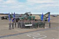 ニュース画像:百里の偵察航空隊、無事故8万飛行時間を達成 59年の歴史閉じる前に