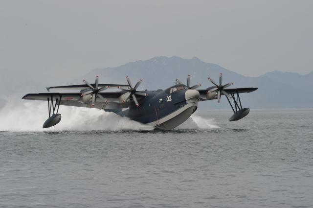 ニュース画像 1枚目:US-2救難飛行艇