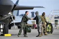 ニュース画像:レッドフラッグで第5世代の能力を発揮するF-35A