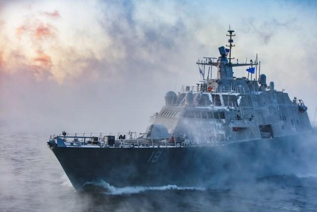 ニュース画像 1枚目:沿海域戦闘艦「セントルイス」