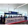 ニュース画像 2枚目:福岡空港国際線定期便初となるA321neoの就航ゲートセレモニー