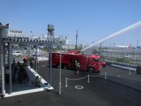 ニュース画像:羽田空港、新設された航空機燃料の貯蔵所の供用開始で消防演習を実施