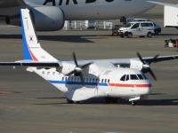 韓国空軍CN-235、羽田に飛来 ダイヤモンド・プリンセスの乗客輸送の画像
