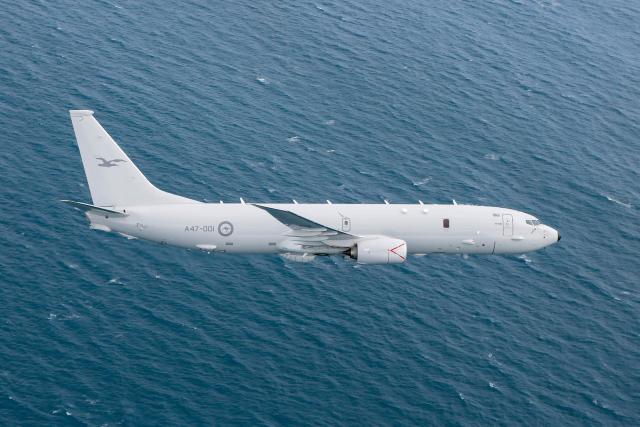 ニュース画像 1枚目:オーストラリア空軍 P-8A哨戒機