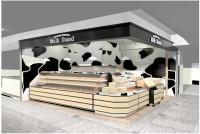 新千歳空港、新店舗「Milk Stand 北海道興農社」をオープンの画像