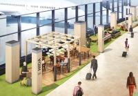 ニュース画像:成田空港、1タミ3階に新シーティングスペース 日本らしさを演出