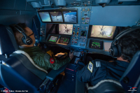 ニュース画像:フランス空軍A330MRTT、ポルトガル空軍F-16で空中給油訓練