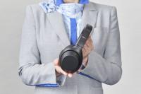 ニュース画像:ANA、ソニーのノイズキャンセリングヘッドホンを国際線Fクラスで提供