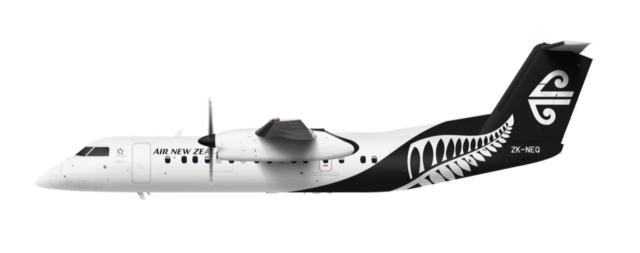 ニュース画像 1枚目:ニュージーランド航空 ボンバルディアQ300