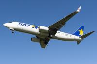 ニュース画像:スカイマークのオンラインショップ、モデルプレーン「JA73NN」追加