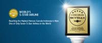 ニュース画像:ガルーダ・インドネシア航空、スカイトラックスの5スターエアラインに認定