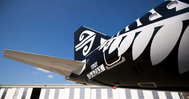 ニュース画像 1枚目:ニュージーランド航空 ロゴ