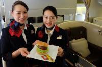 ニュース画像:JAL、植物由来「パテ」を使用した「ビヨンドバーガー」 国際線で提供