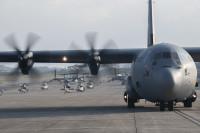 ニュース画像:「無駄なく展開」を目指すアメリカ空軍