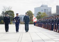 ニュース画像:カナダ空軍司令官、空軍種間防衛協力で航空幕僚長などと意見交換