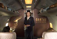 ニュース画像:カンタス航空、100年の歴史を記念して新機内安全ビデオを発表