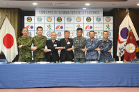 ニュース画像:第5航空群など、大規模災害時における派遣隊員の家族支援で協定を締結