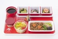 ニュース画像:JAL、国際線で三重なばなを使ったメニューを提供 3月から5月まで