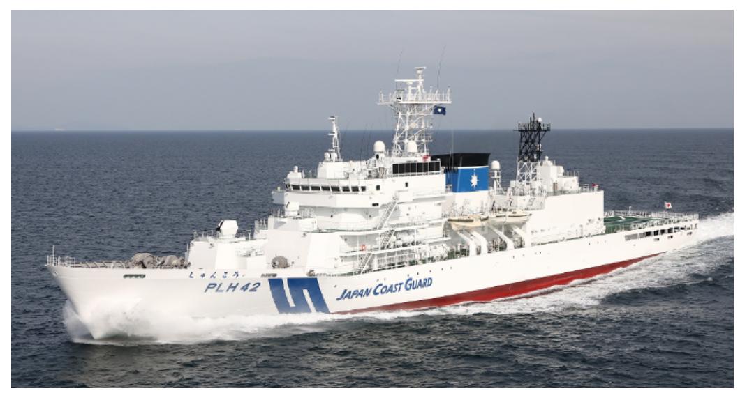 海保、巡視船「れいめい」と「しゅんこう」就役披露式 | FlyTeam ニュース