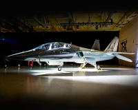 ニュース画像:アメリカ空軍T-7A次期ジェット練習機、飛行中にエンジン再始動