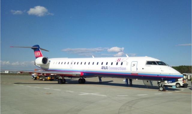 ニュース画像 1枚目:アイベックスエアラインズ CRJ-700