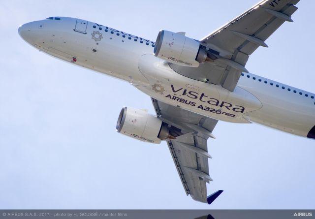 ニュース画像 1枚目:ビスタラ A320
