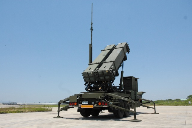 ニュース画像 1枚目:高射隊が運用するPAC-3