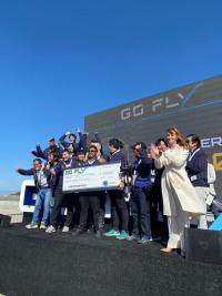 ニュース画像:テトラ、GoFlyでP&Wディスラプター賞 10万ドル獲得