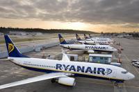 ニュース画像:ライアンエア、イタリア路線を中心とした短距離路線を最大25%減便へ