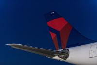 ニュース画像:デルタ航空、3月発券の国際線航空券は予約変更手数料が1回無料に