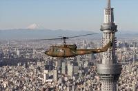 ニュース画像:防府北基地、3月7日にUH-1Jが休日飛行