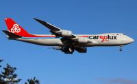 ニュース画像:カーゴルクスが設立50周年、747-8F特別塗装機も運航中