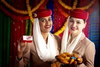 ニュース画像:エミレーツ航空、ホーリー祭を祝いインド7都市路線で特別スイーツ提供