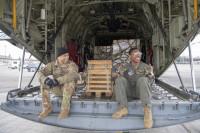 ニュース画像:アメリカ空軍と空・陸自、人道支援「トモダチレスキュー」演習を実施