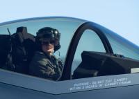 ニュース画像:アメリカ空軍初、女性F-35Aデモンストレーション・パイロット誕生