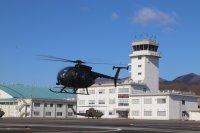 ニュース画像:陸自OH-6D最終番機「31313」、用途廃止のセレモニー