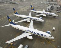 ニュース画像:ライアンエア、移動制限措置でイタリア発着路線を大幅縮小 国内線は運休