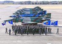 ニュース画像:百里基地の偵察航空隊ファントム、ラストフライト