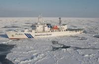 ニュース画像:巡視船そうや、オホーツク海南西海域海氷観測 今シーズンの調査終了