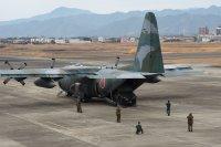 ニュース画像:第14旅団、旅団災害対処演習 空自C-130Hで機動展開